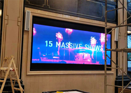 宜宾天玺售楼部P3全彩LED室内屏