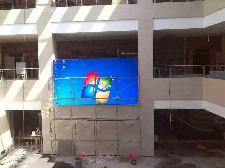 深圳市宝安西乡一中P6户外LED全彩显示屏