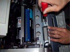 打印样张分析激光打印机故障
